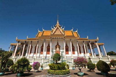 Silver pagoda Phnom Penh cambodia