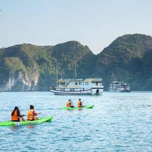 Golden Star Cruise- Halong Bay- Smile Travel